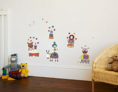 Welcome to the Circus Wall Sticker