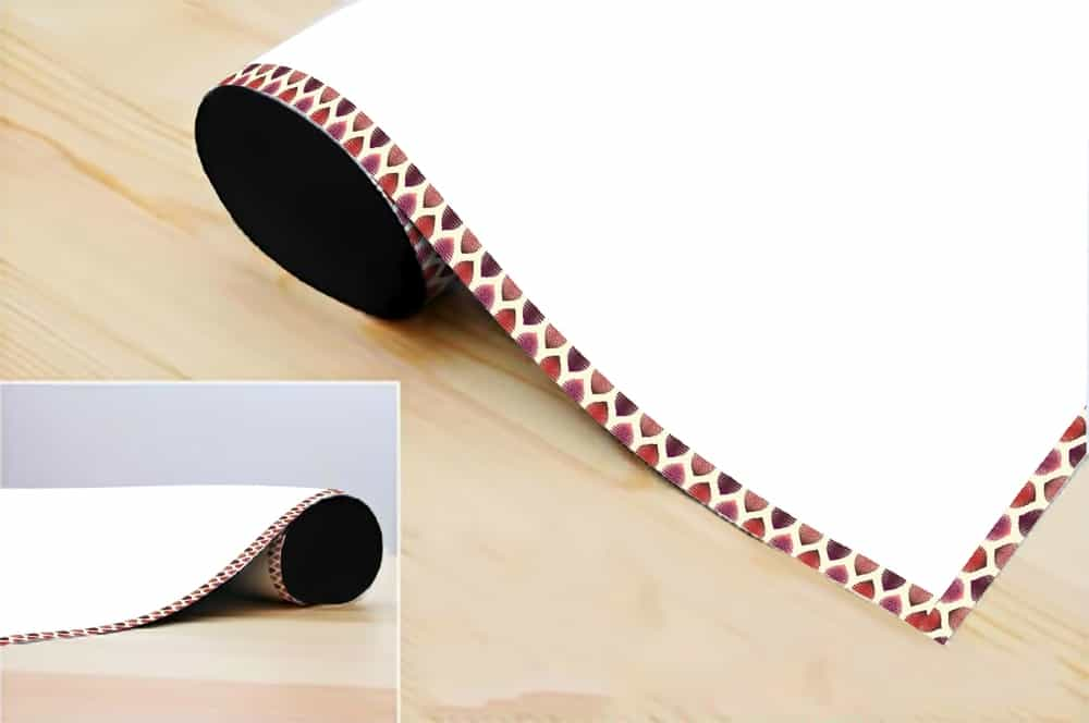 WDPRVNST0010 Tiger Dots Border Writing Film Roll room decal