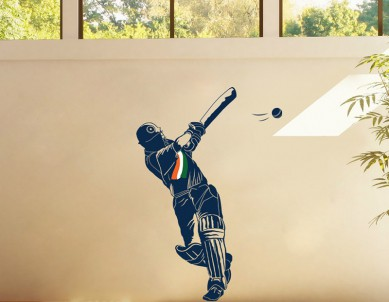 Cricket is life Wall Sticker