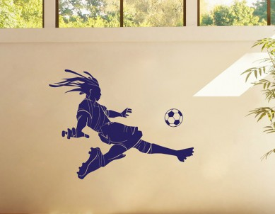 The Leonidas Football Wall Sticker
