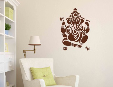 Symbolic Ganesha Wall Sticker