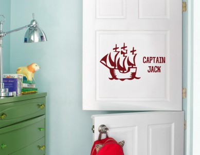 A Sailor Boy Wall Sticker