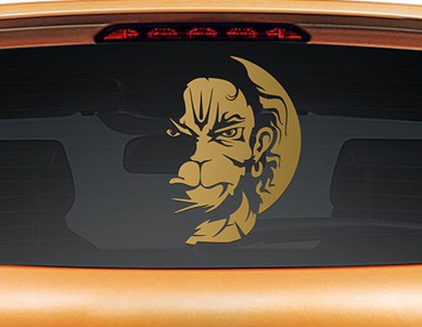 Vayuputhra Car Rear Glass Sticker