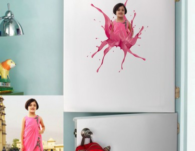 Paint Blossom Wall Sticker