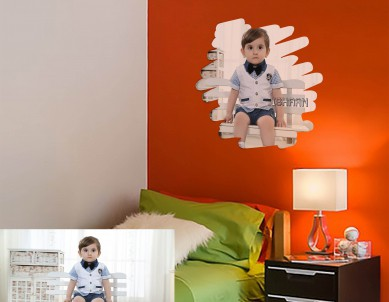 Photo Art Painting Wall Sticker