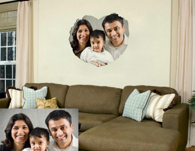 Photo Heart Frame Wall Sticker