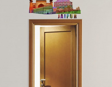 Modern Jaipur Wall Sticker