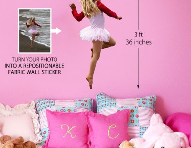 Print Your Photo Into Wall Sticker