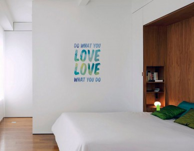 Do What You Love Love Wall Sticker