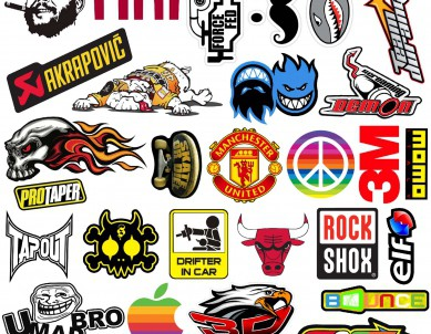 Racing Stickers Collection