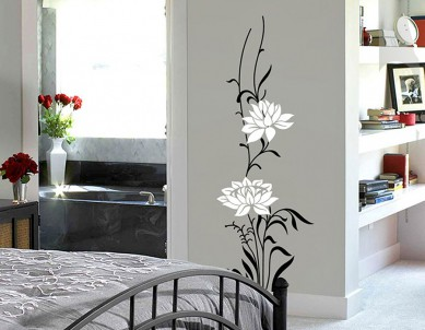 Flower Paradiso Wall Sticker