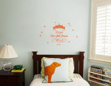Prince & Princess Wall Sticker