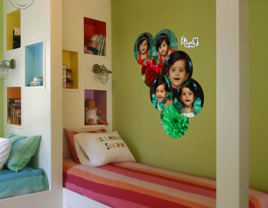 Photo Bubbles Group Wall Sticker