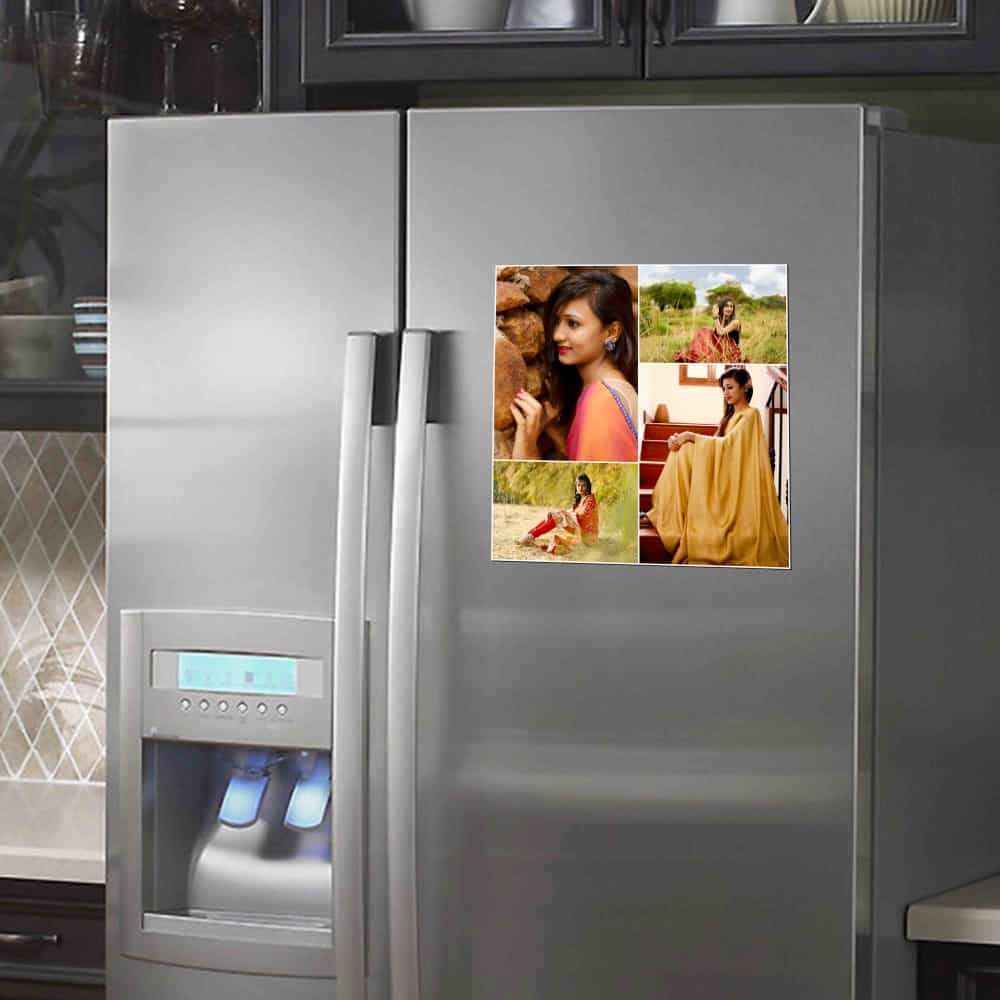 Print Your Photo Into Fridge Magnet 3 room sticker