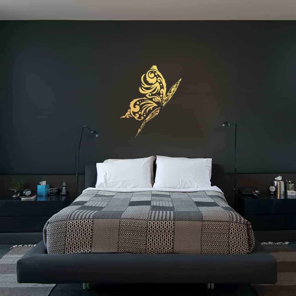 Butterfly Love Bedroom2 Wall Sticker