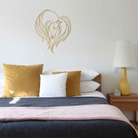 Horse Love Bedroom2 Wall Sticker
