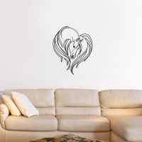 Horse Love Living Wall Sticker