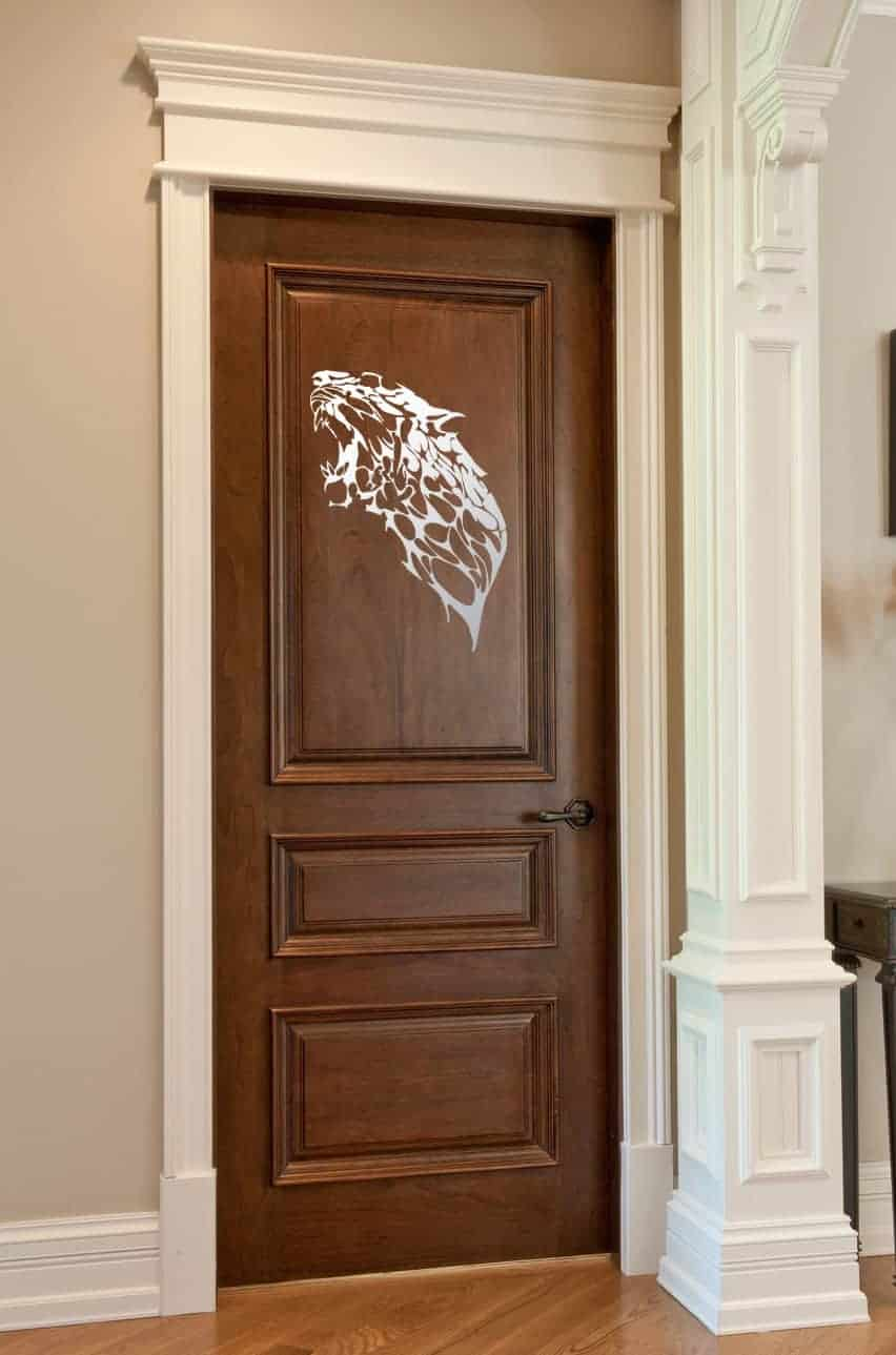 Roar of the Beast Door Wall Sticker