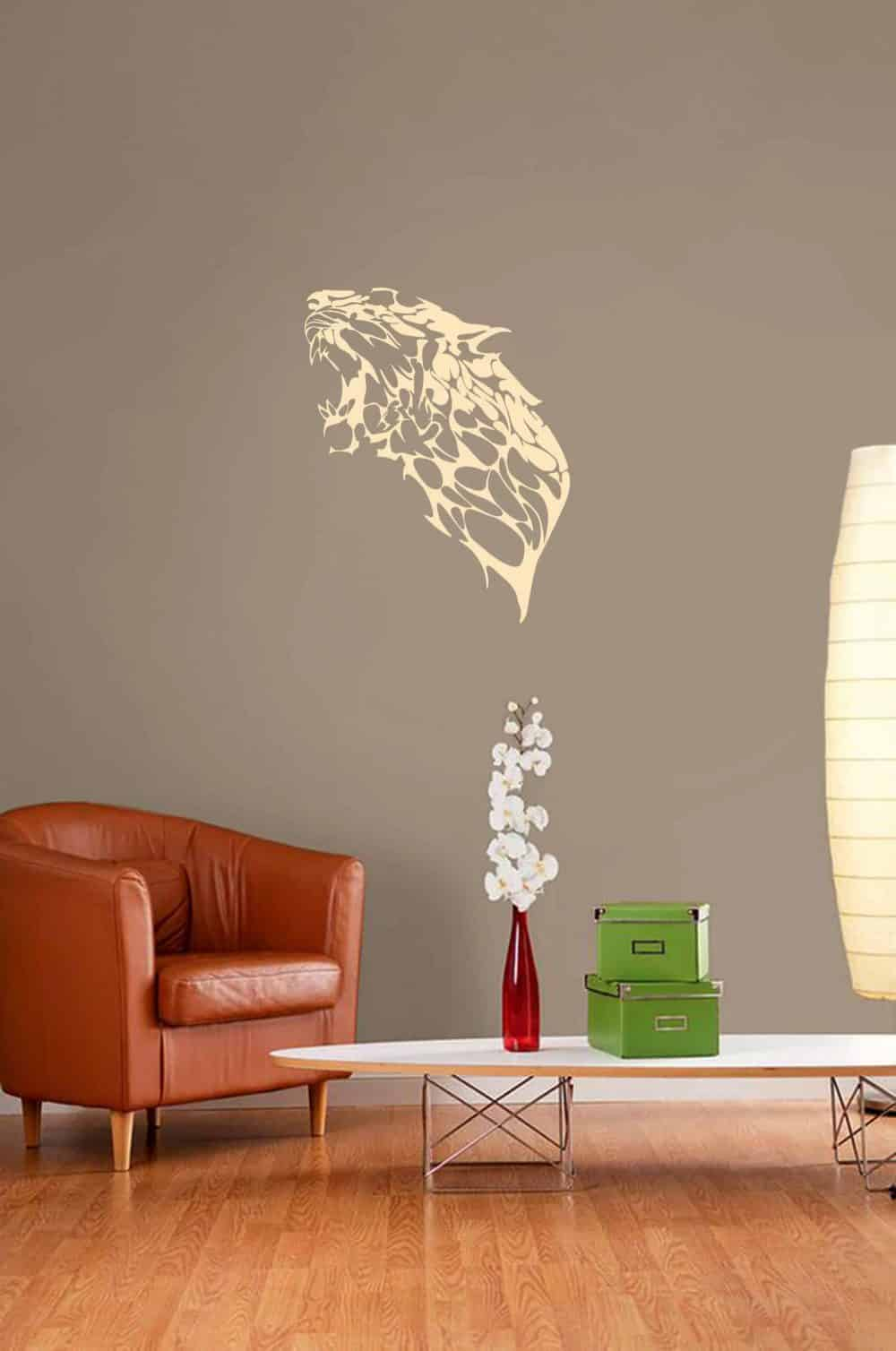 Roar of the Beast Living Wall Sticker