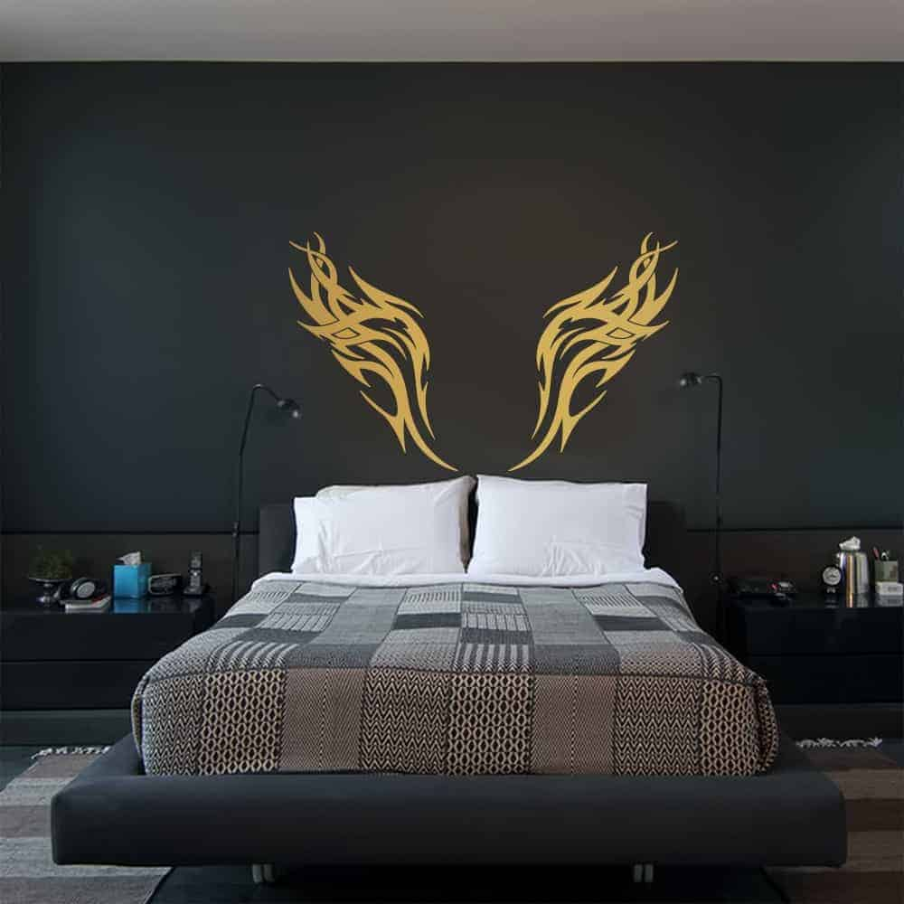 Wings of the Eagle Bedroom2 Wall Sticker