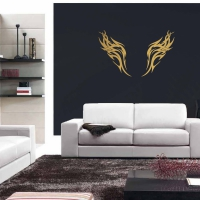 Wings of the Eagle Living Wall Sticker