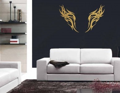 Wings of the Eagle Wall Sticker