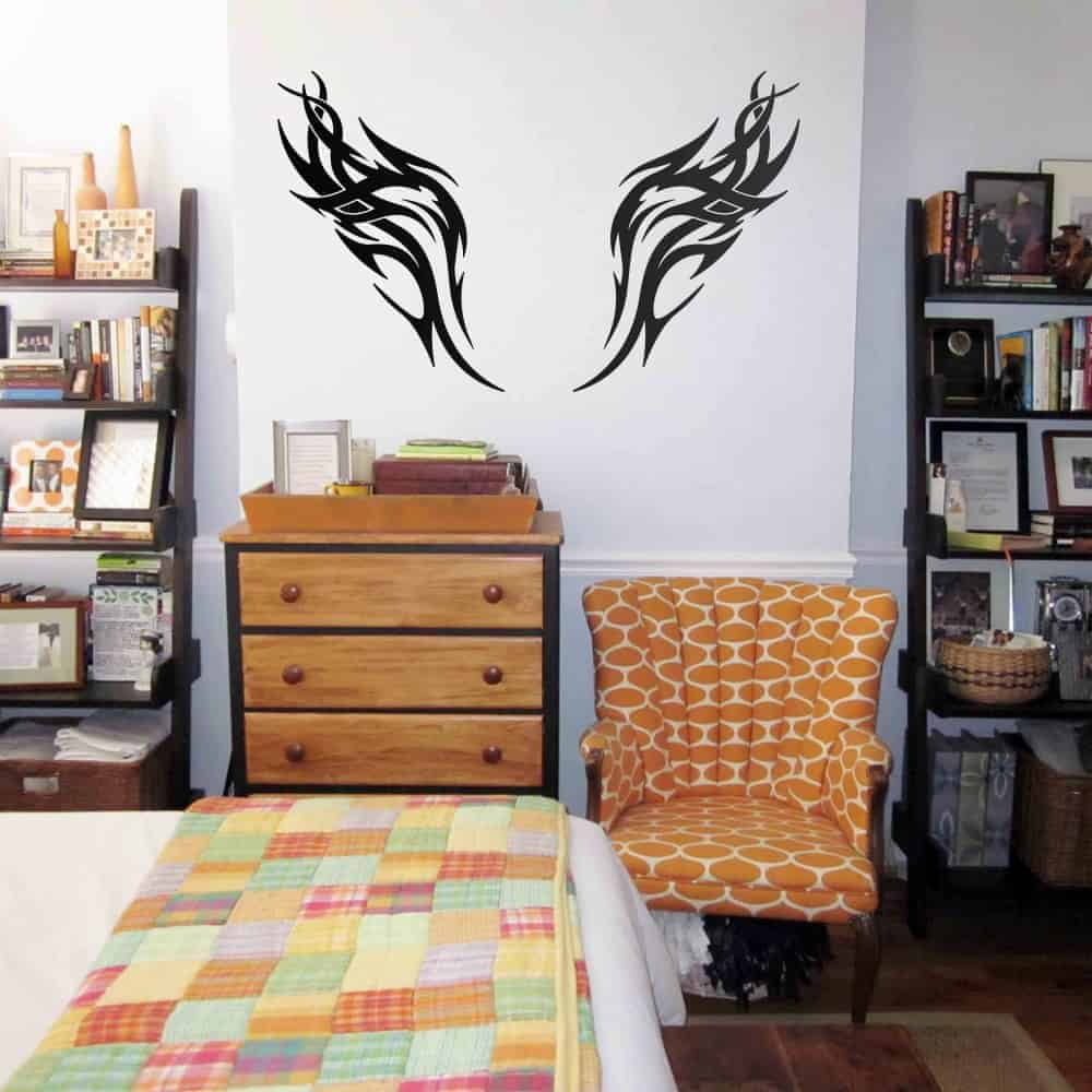 Wings of the Eagle Study Wall Sticker