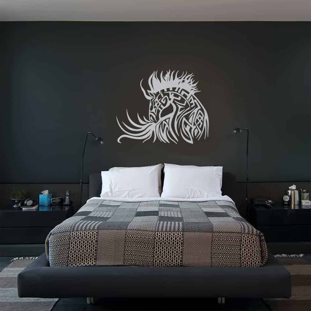 Horse Tattoo Bedroom3 Wall Sticker