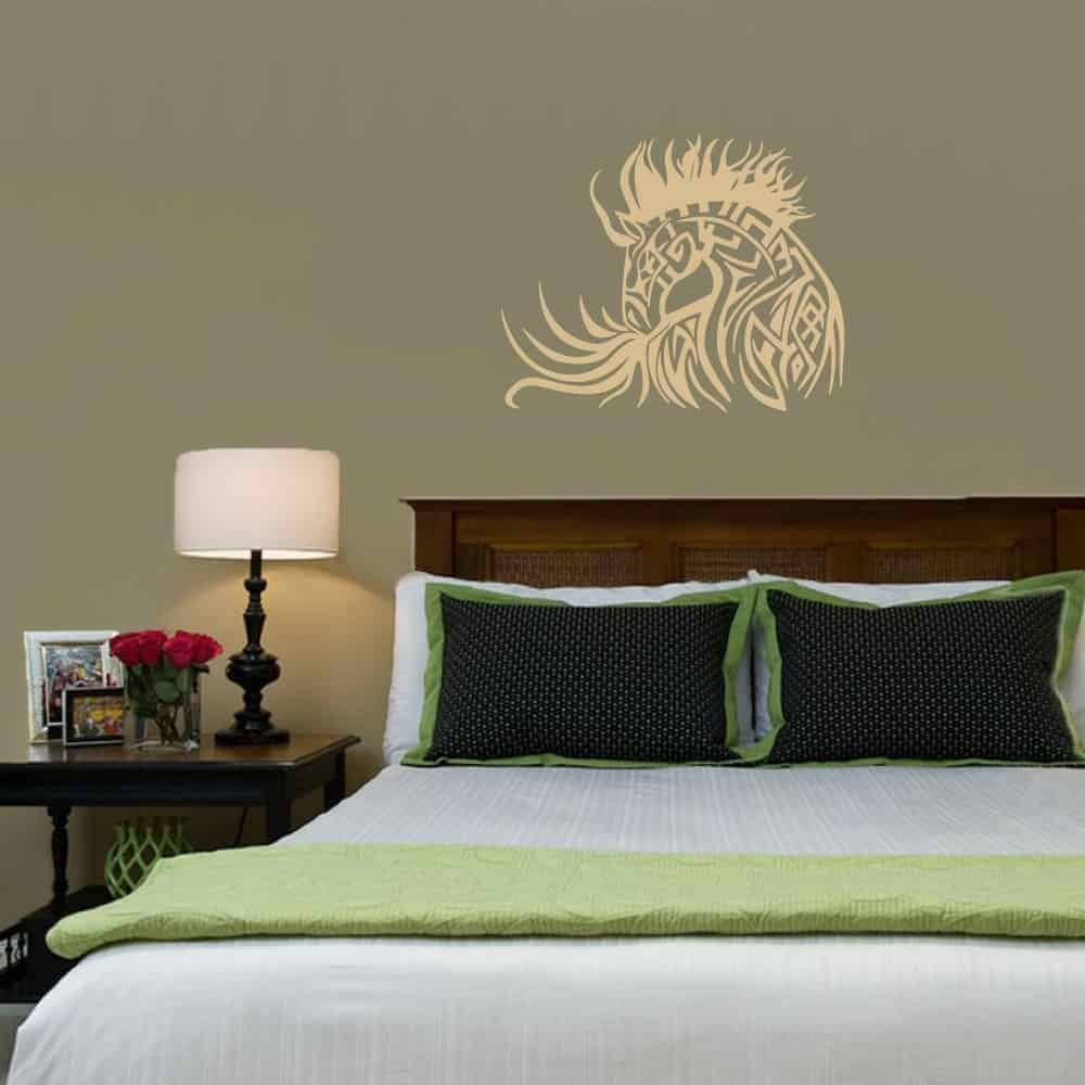 Horse Tattoo Bedroom4 Wall Sticker