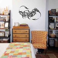 Dragon Tail Teen Wall Sticker