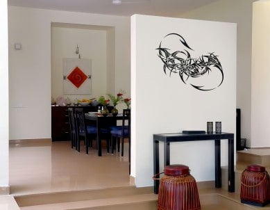 Dragon Tail Wall Sticker