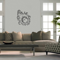 Smooth as a Feather Living Wall Sticker