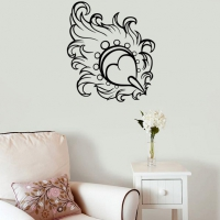 Smooth as a Feather Living2 Wall Sticker