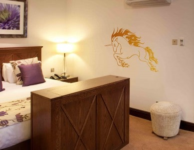 Raging Unicorn Wall Sticker
