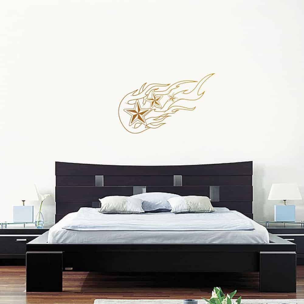 Nautical Flames Teen Wall Sticker