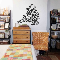 Playful Tiger Teen Wall Sticker