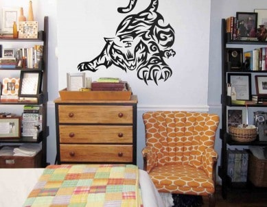 Playful Tiger Wall Sticker