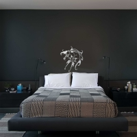 Fly Like a Horse Bedroom2 Wall Sticker