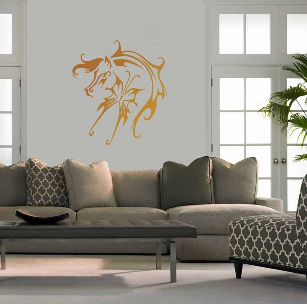 Fly Like a Horse Living Wall Sticker