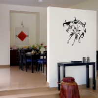 Fly Like a Horse Universal Wall Sticker