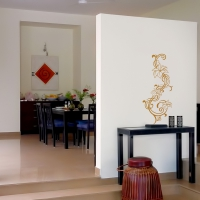 Flower Twist Universal Wall Sticker