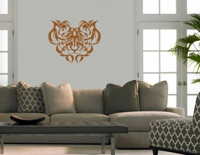 Tigers Den Wall Sticker