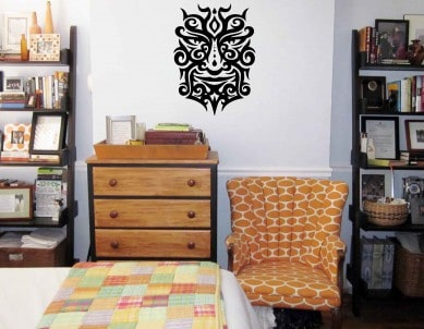 Face Off Wall Sticker