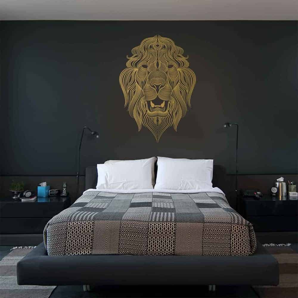 The Lions Call Bedroom2 Wall Sticker