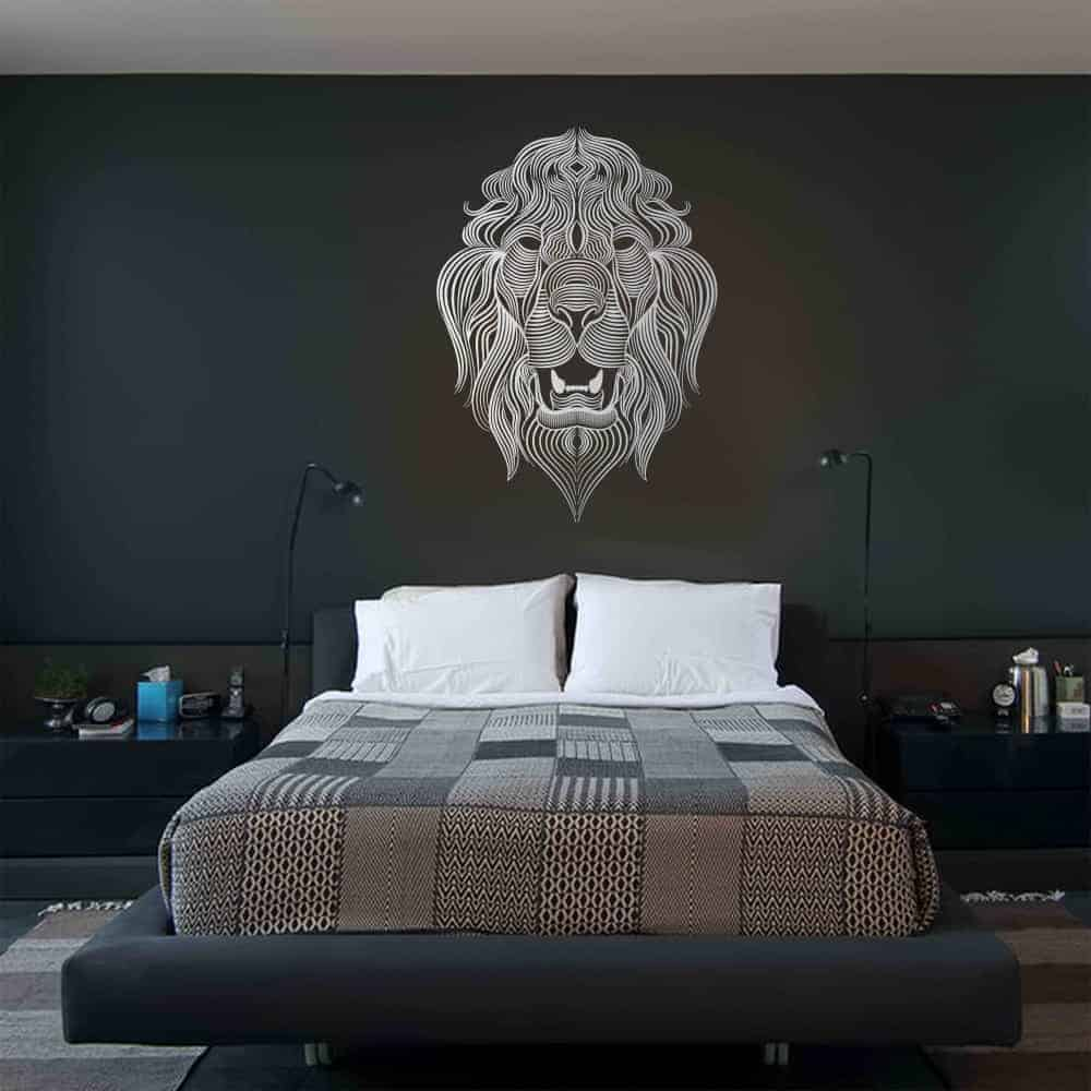The Lions Call Bedroom3 Wall Sticker