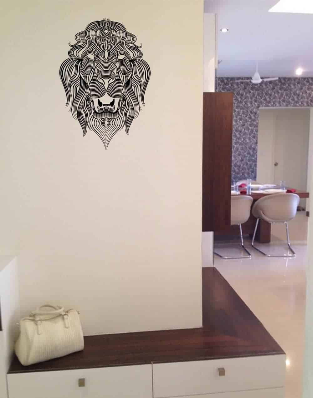The Lions Call Universal Wall Sticker