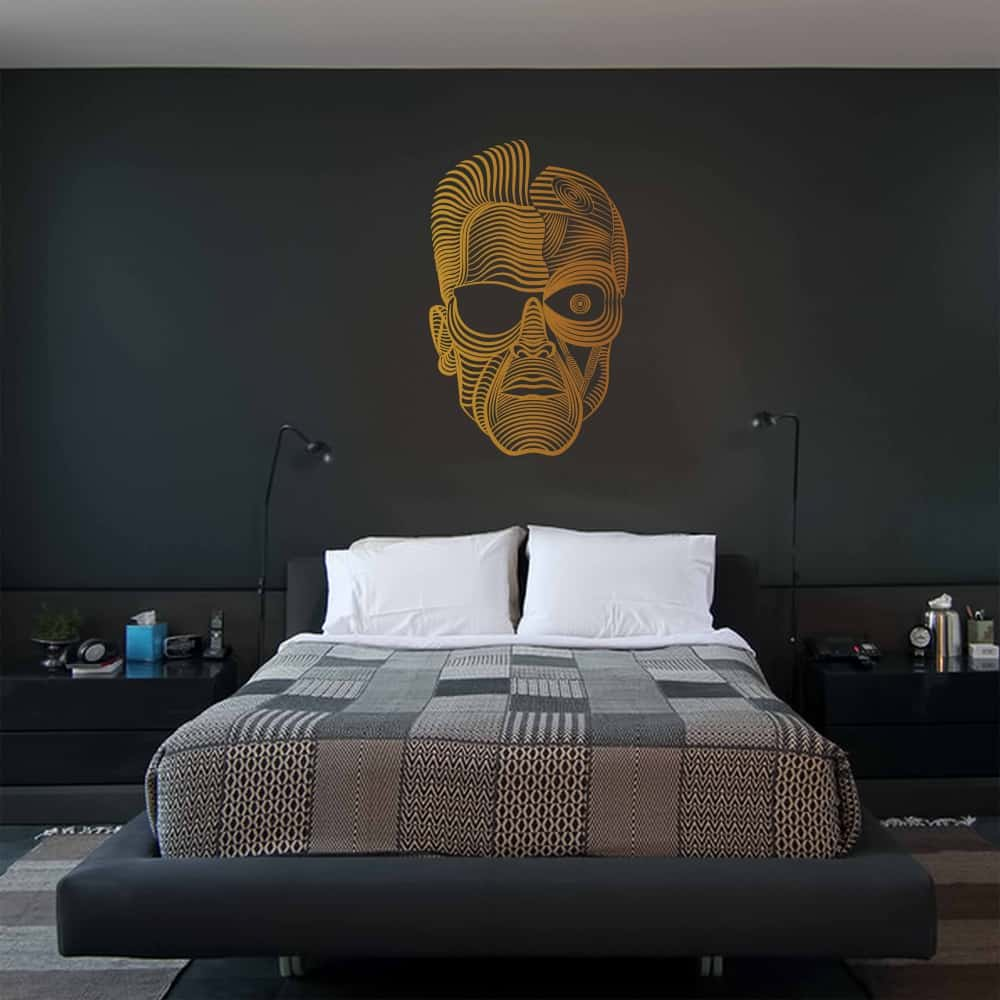 Terminator Bedroom Wall Sticker