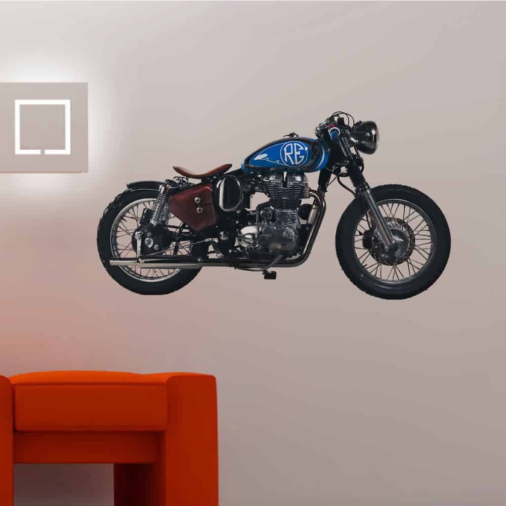 WDPCAMCB0001 Print your favourite bullet bike wall sticker