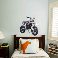 WDPCAMCB0001 Print your favourite dirtbike wall sticker