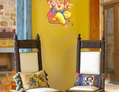 Lord Ganesha Grand Wall Sticker